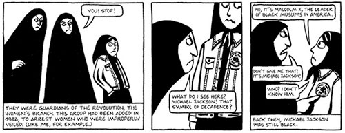 from Persepolis by Marjane Satrapis