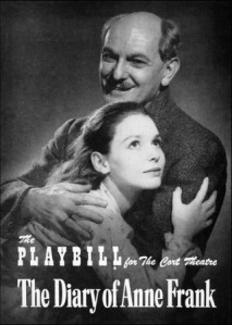 anne frank playbill